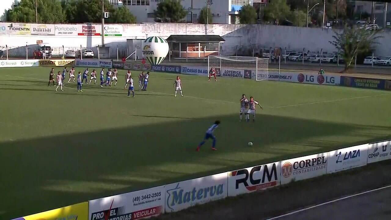 Os gols de Concórdia 1 x 1 Avaí