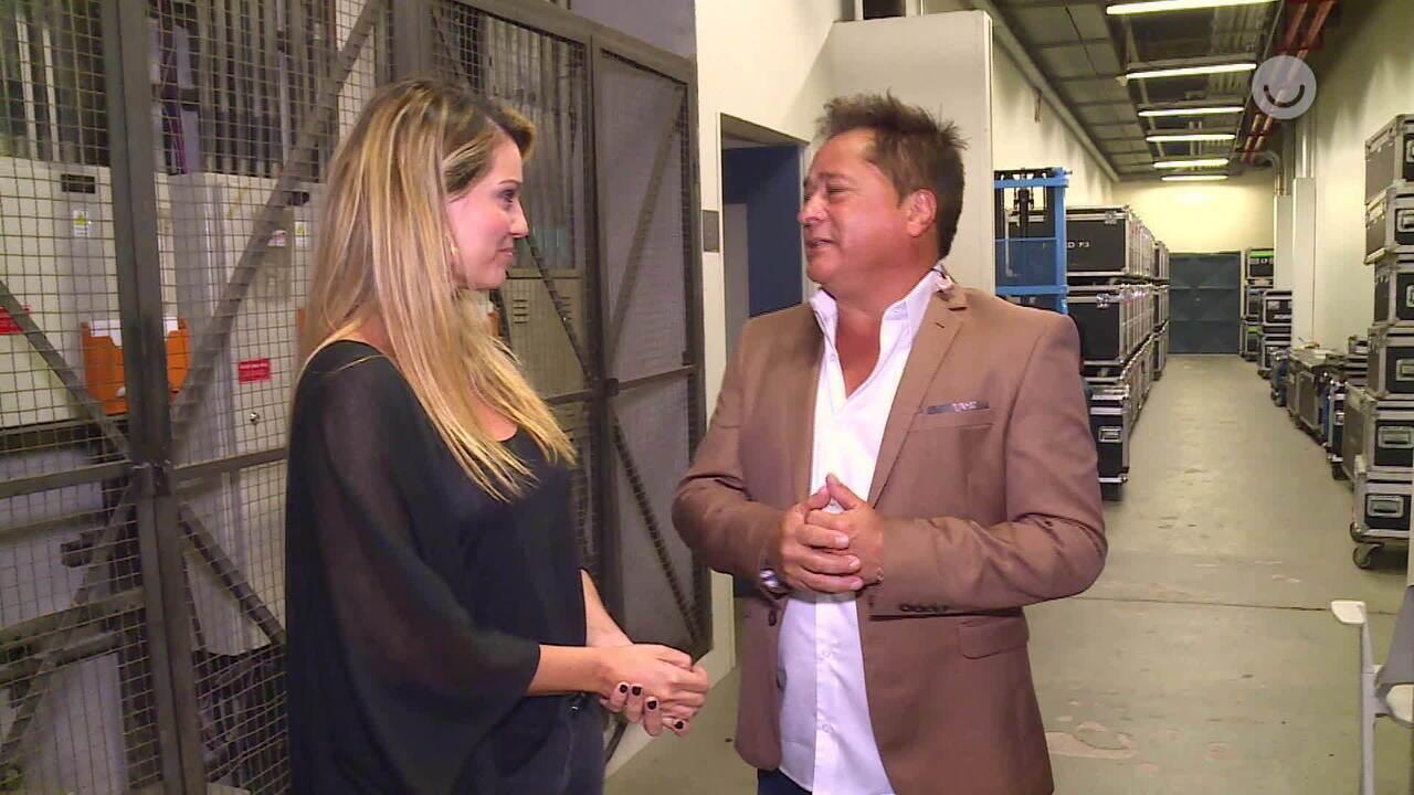 Leonardo fala sobre sua 70ª participação no 'Domingão'