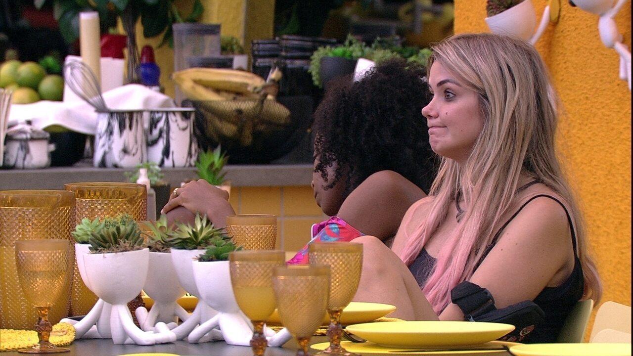 Marcela desabafa: 'Se Babu não sair, vai ser um choque para nós'