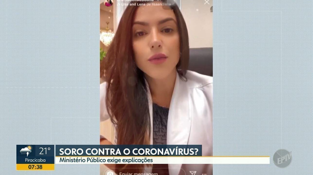 MP apura se médica de Ribeirão Preto sugeriu soro da imunidade para prevenir coronavírus