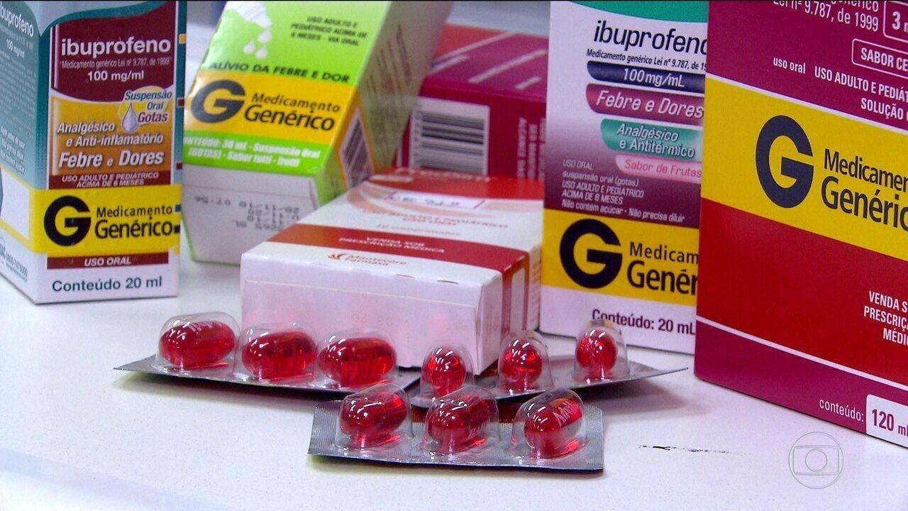 Ibuprofeno não deve ser usado em suspeita de Covid-19, orienta OMS