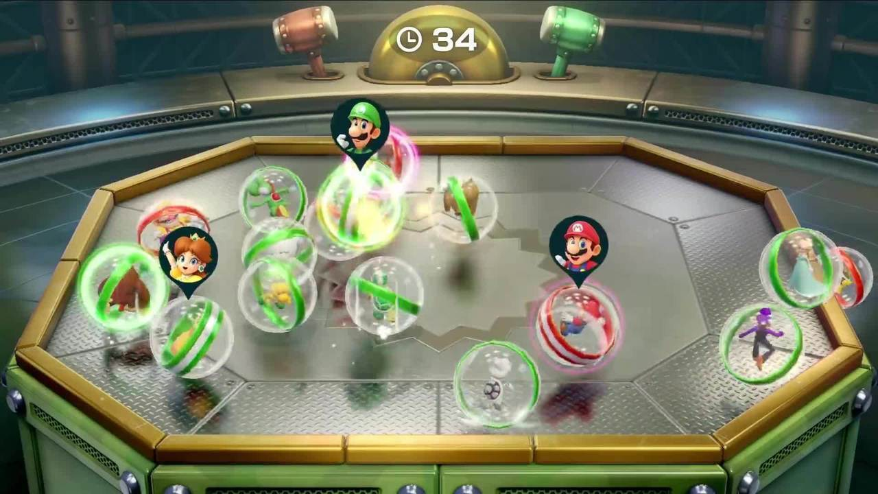 Here's the trailer for 'Super Mario Party'