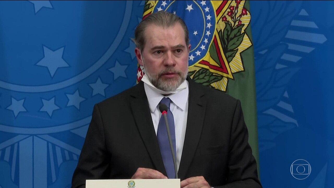 Presidente do STF ressalta importância da imprensa na crise da Covid-19
