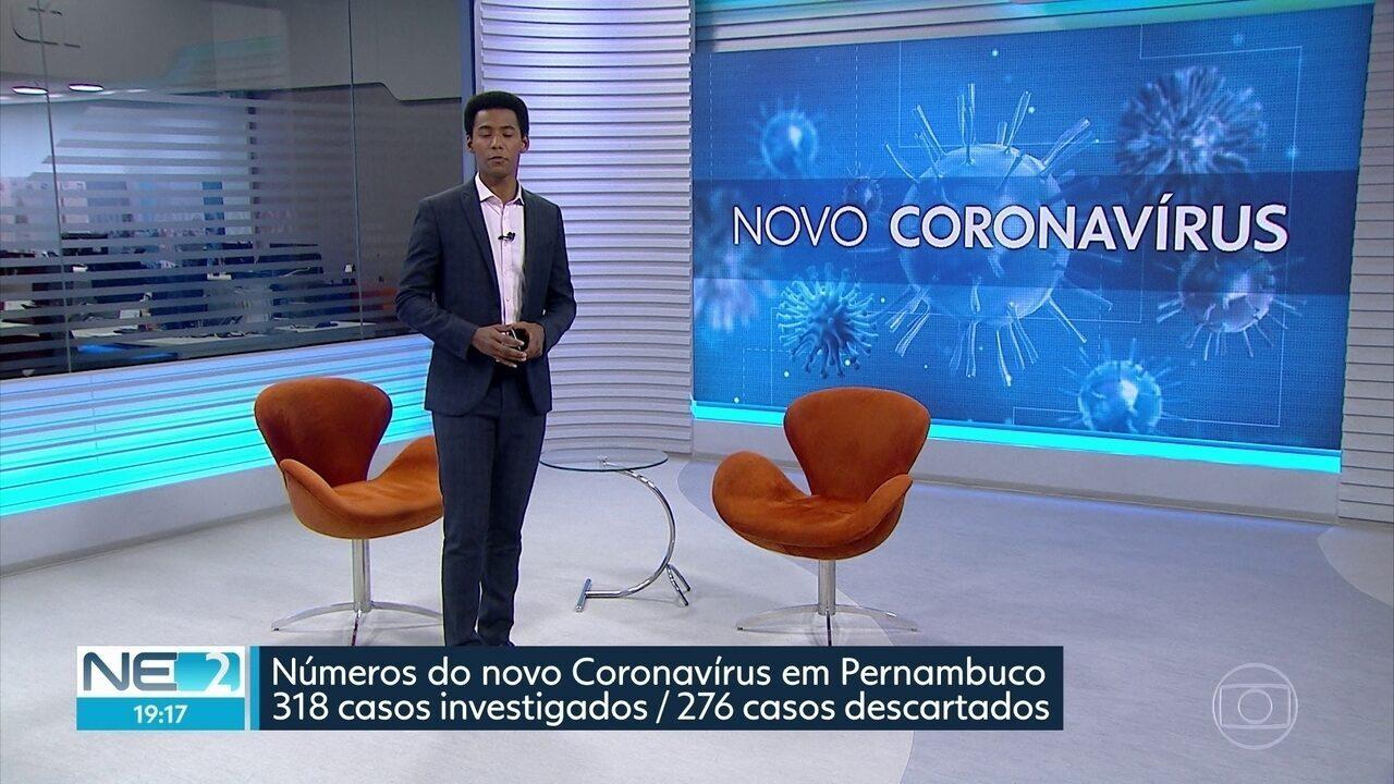 Estado confirma 33 casos do novo coronavírus e informa que mais duas pessoas foram curadas
