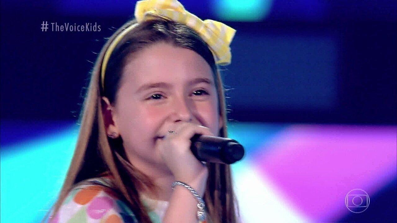 Melhores Momentos Audições às Cegas: Duda de Paula canta 'Meu Abrigo'