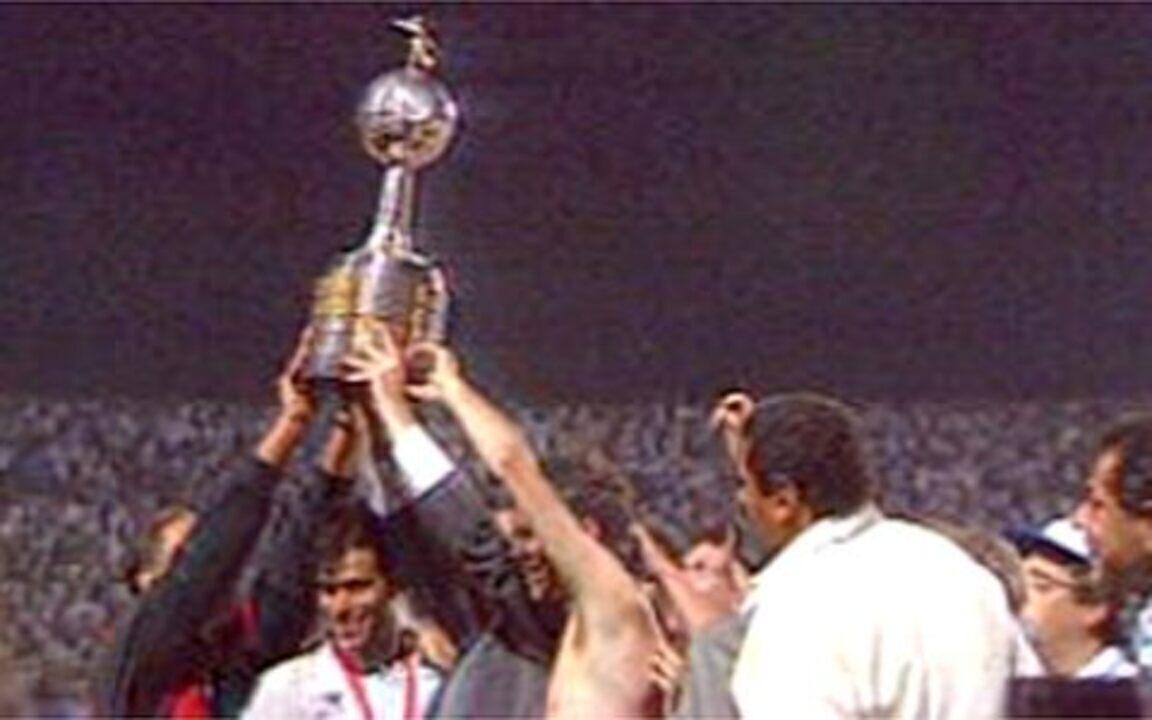 Em 1992, São Paulo é campeão da Libertadores