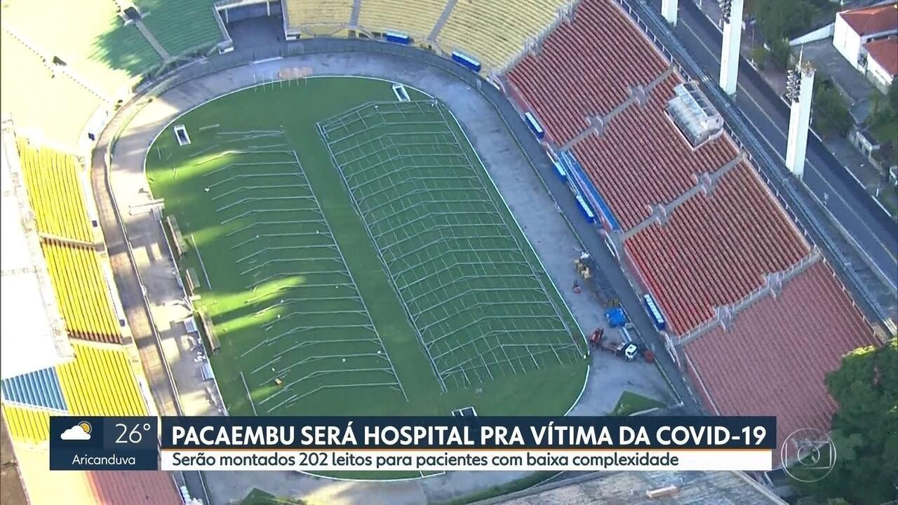Pacaembu será transformado em hospital