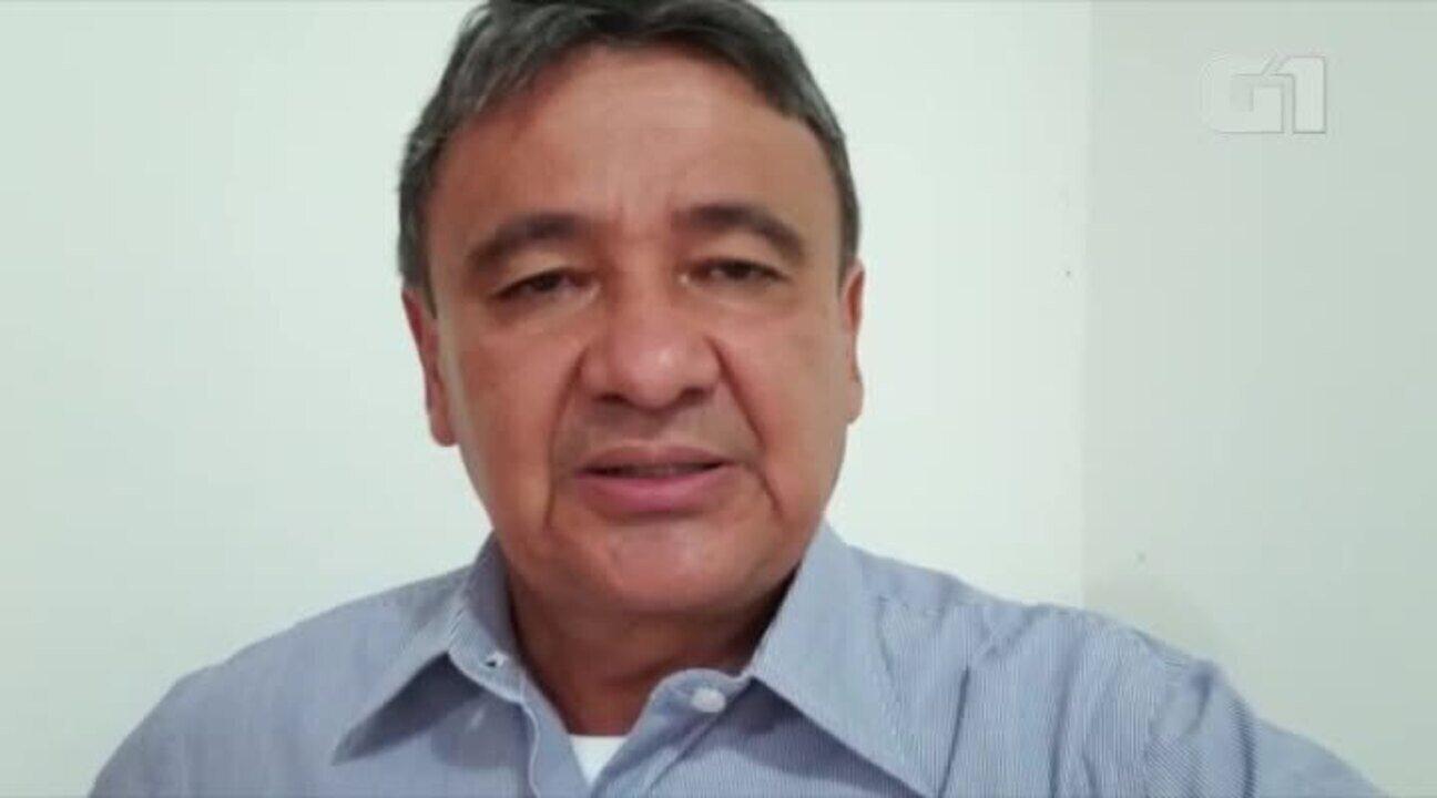 Governador Wellington Dias fala sobre pronunciamento do presidente bolsonaro