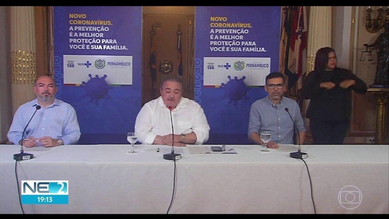 Pernambuco registra a primeira morte de paciente com o novo coronavírus