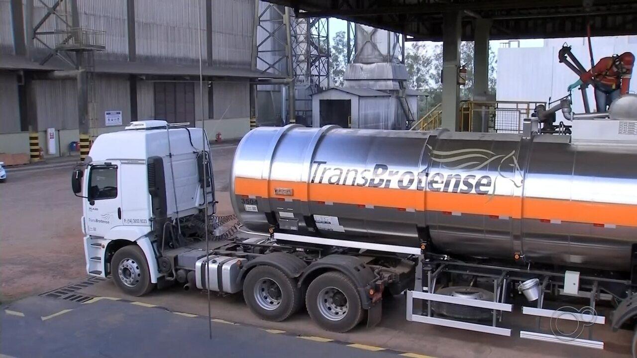 Usina de Paraguaçu Paulista doa álcool líquido 70% para o SUS