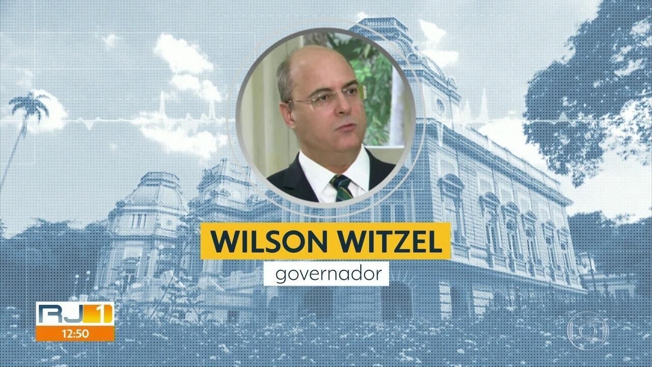Governador Wilson Witzel diz que não vai mudar isolamento