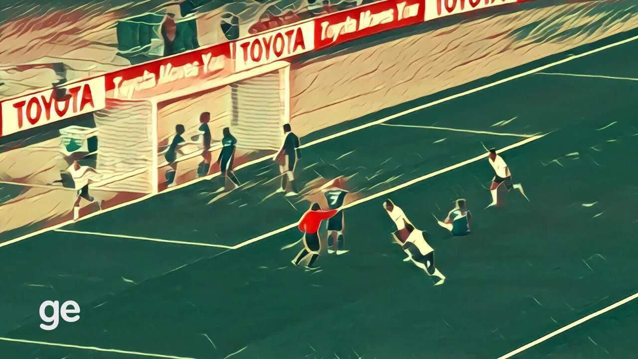 Obra-prima do Corinthians: veja o gol de Guerrero no título mundial em formato de pintura