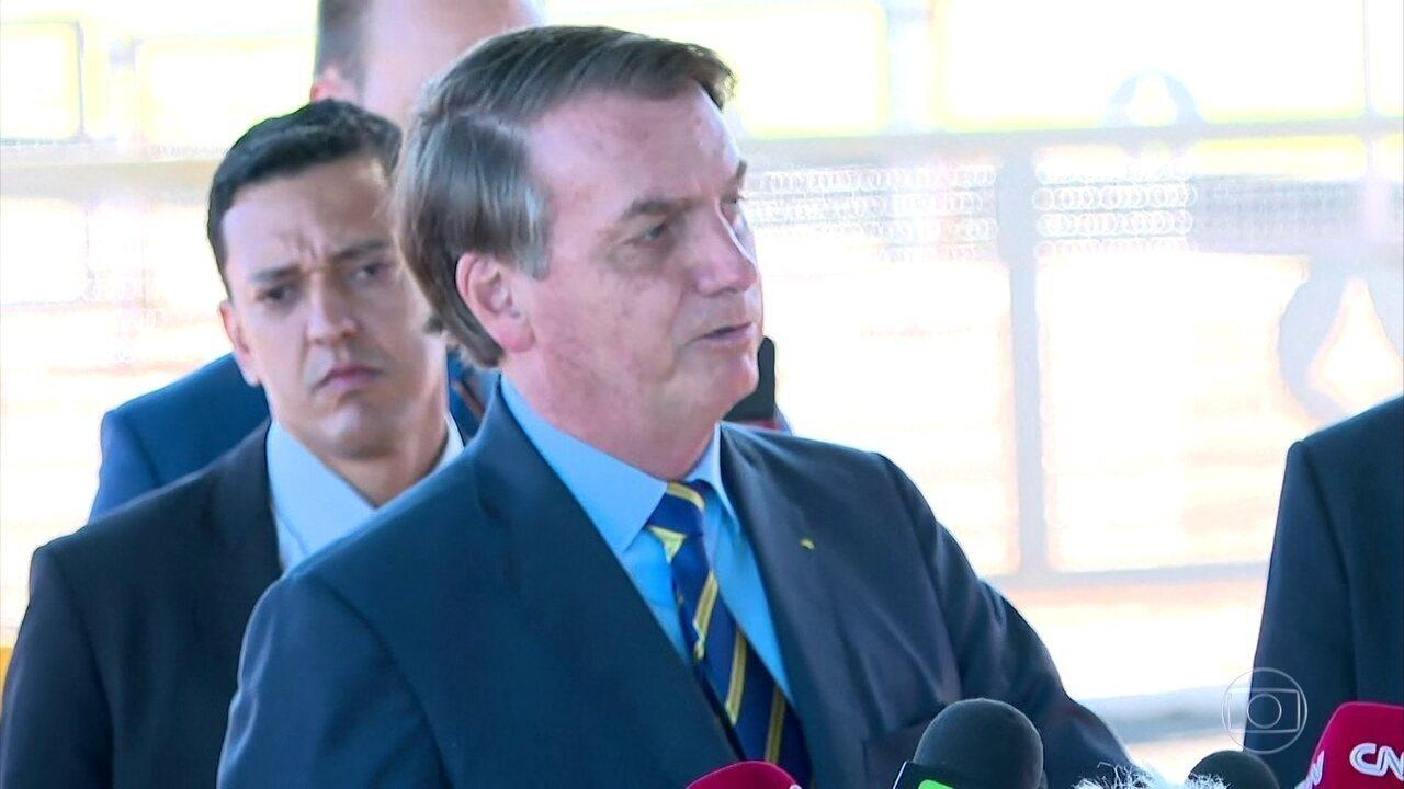 Em pronunciamento, Bolsonaro não usa interpretação equivocada da fala do diretor da OMS