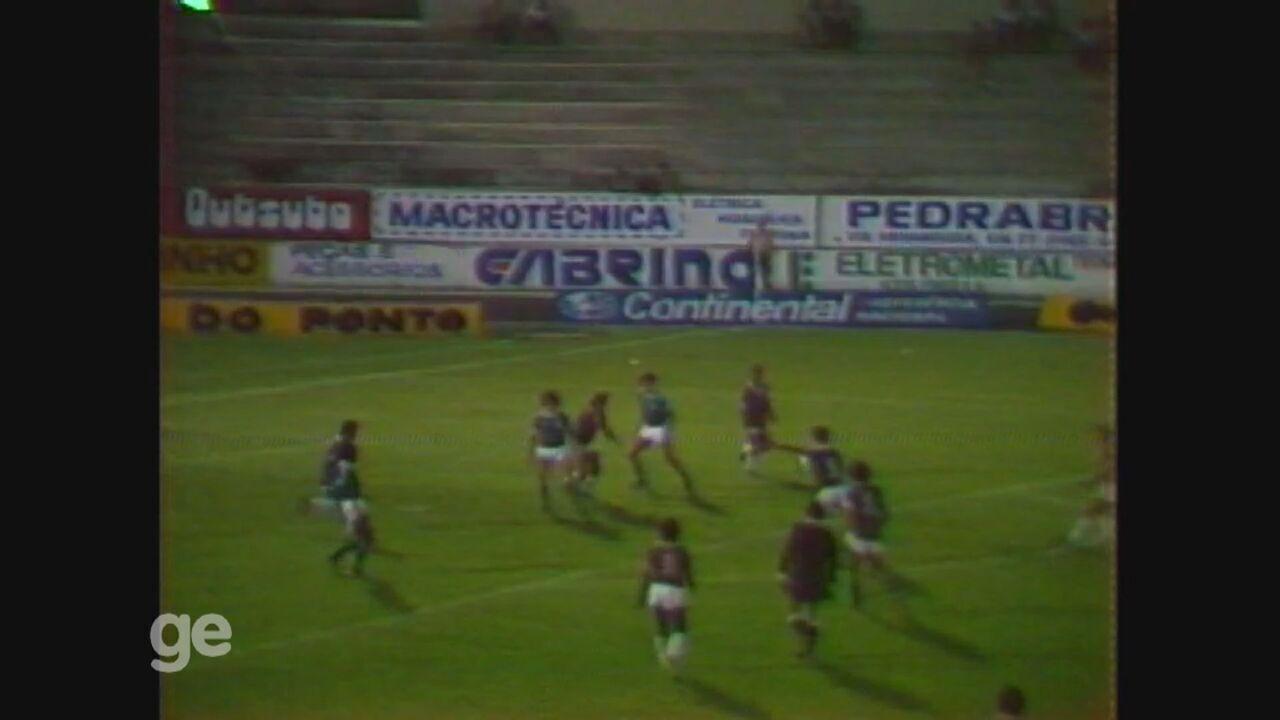 Guarani faz 8 a 0 no River pelo Campeonato Brasileiro de 1982