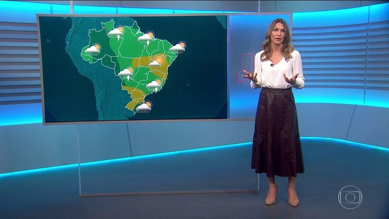 Veja a previsão do tempo para esta sexta-feira (3) no Brasil