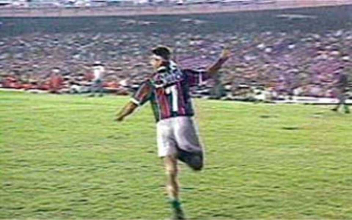 Em 1995, Fluminense é campeão carioca com gol de barriga