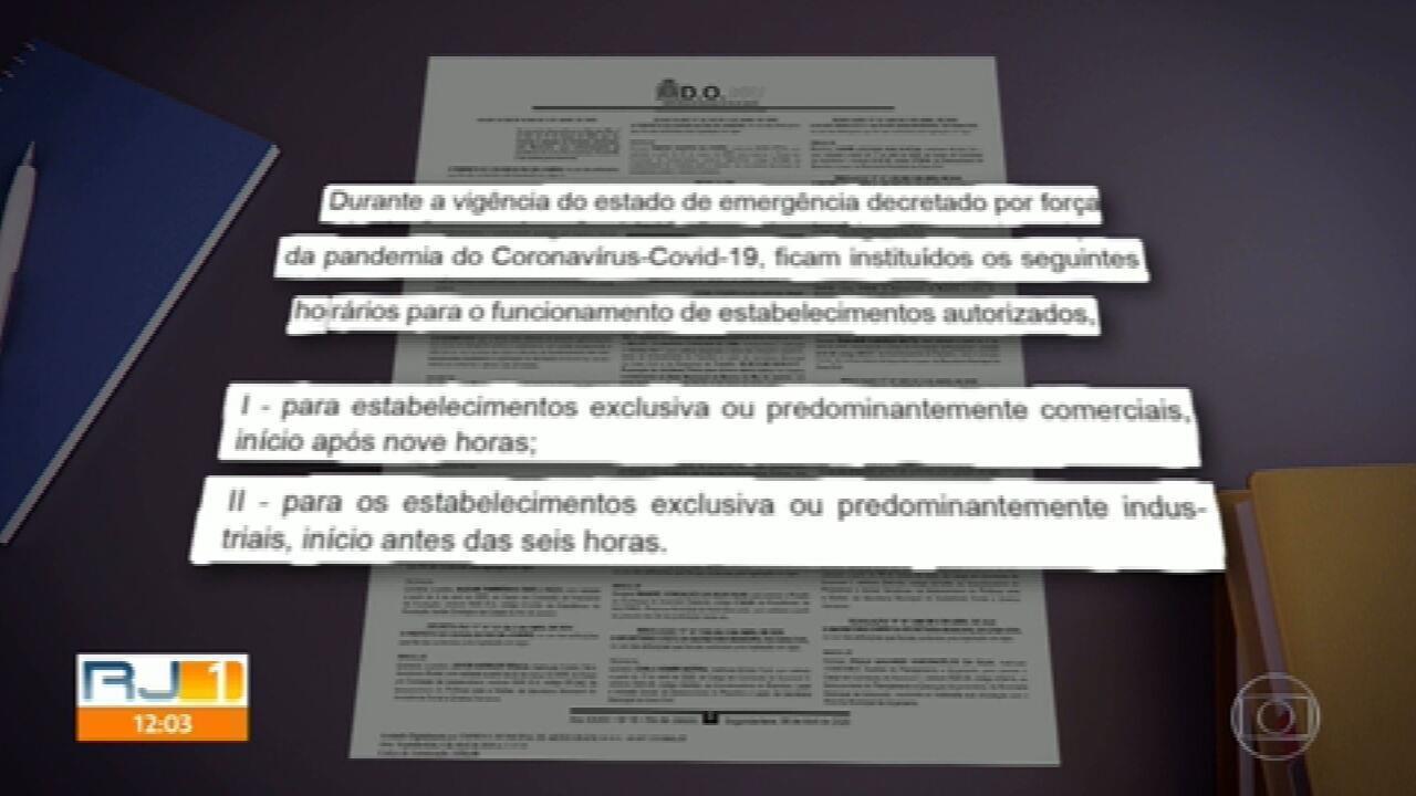 Decreto da Prefeitura do Rio determina novas medidas pra enfrentar o novo coronavírus