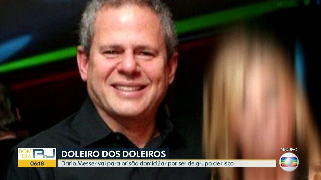 Doleiro Dario Messer ganha direito a prisão domiciliar