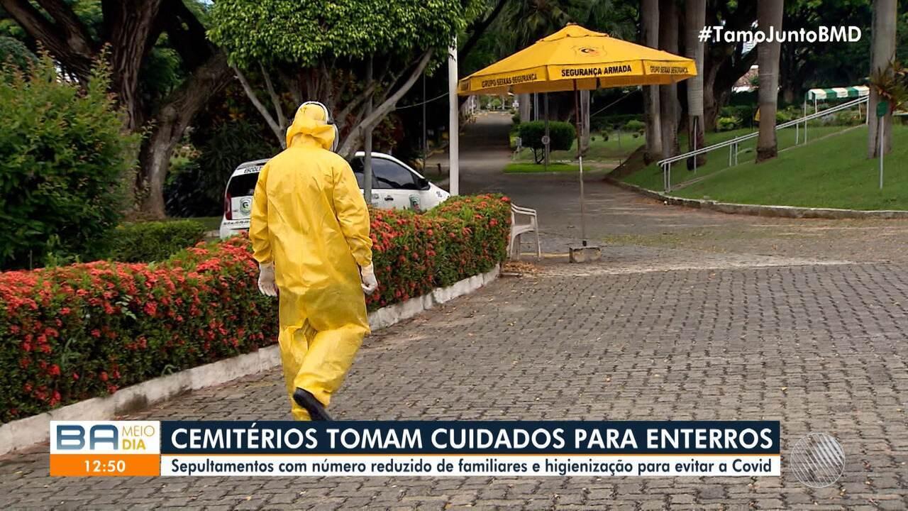 Cemitérios de Salvador adotam medidas de segurança para evitar ...