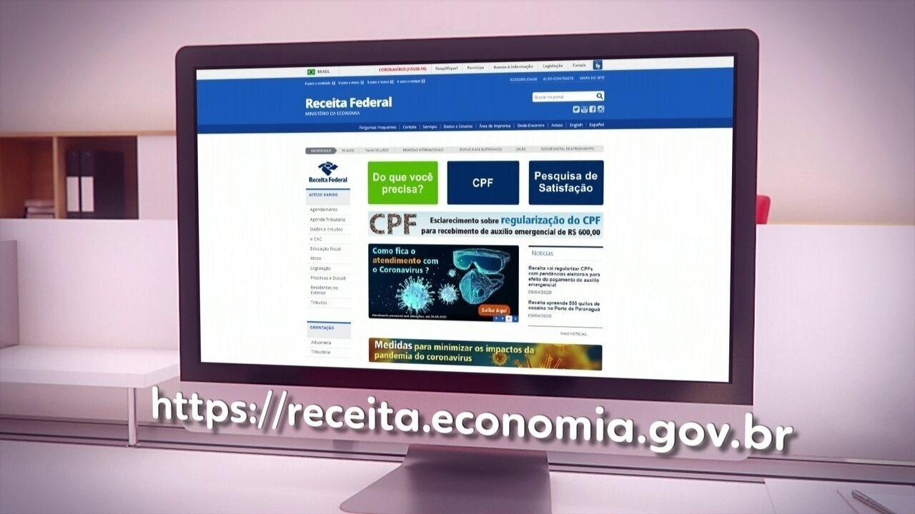 Veja como consultar ou regularizar a situação do CPF no site da Receita Federal