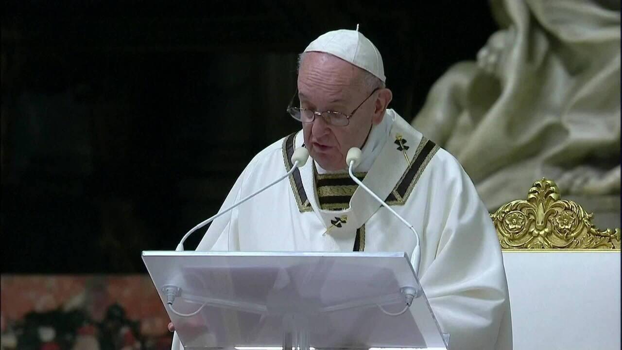 Páscoa: Papa pede solidariedade global em missa sem público