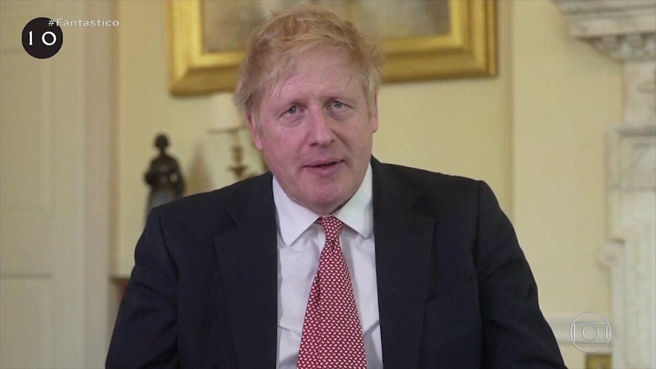 Boris Johnson recebe alta após ser internado com Covid-19