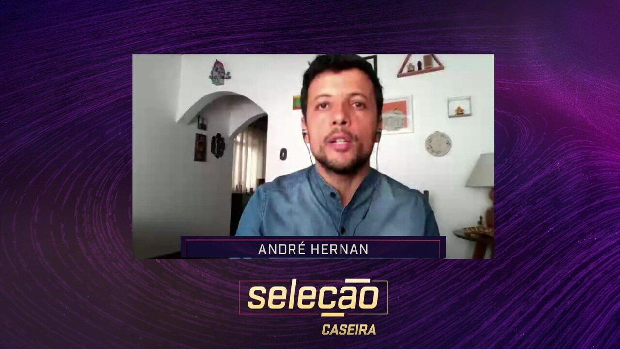 André Hernan fala sobre possibilidade de Cavani jogar no São Paulo