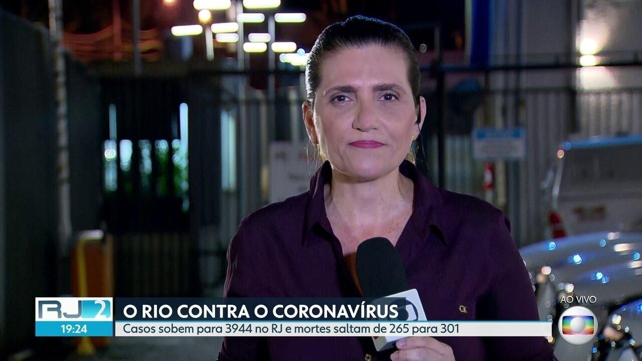 Casos de Covid-19 não param de subir e a taxa de ocupação dos leitos está em 90% no Rio