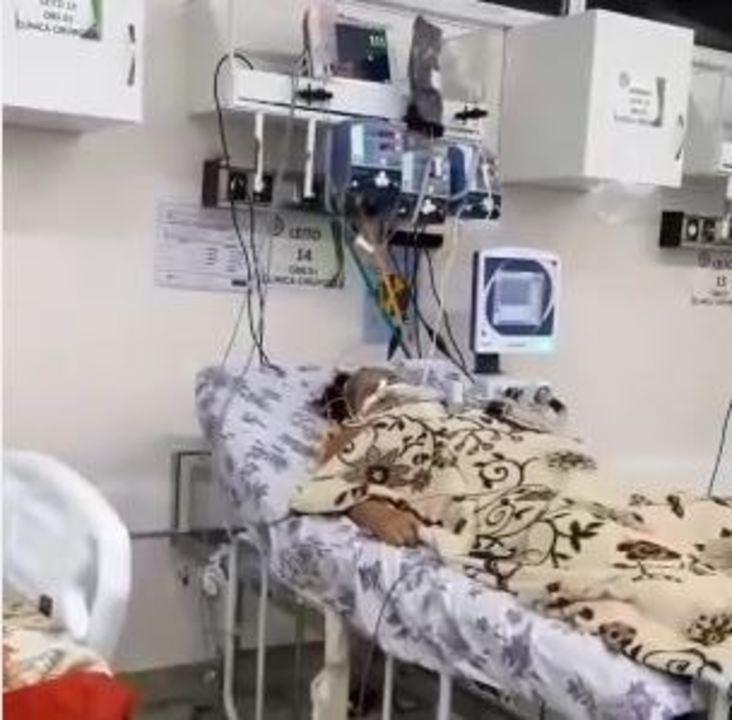 Vídeo mostra corpos de pacientes com suspeita de Covid-19 ao lado de internados no AM