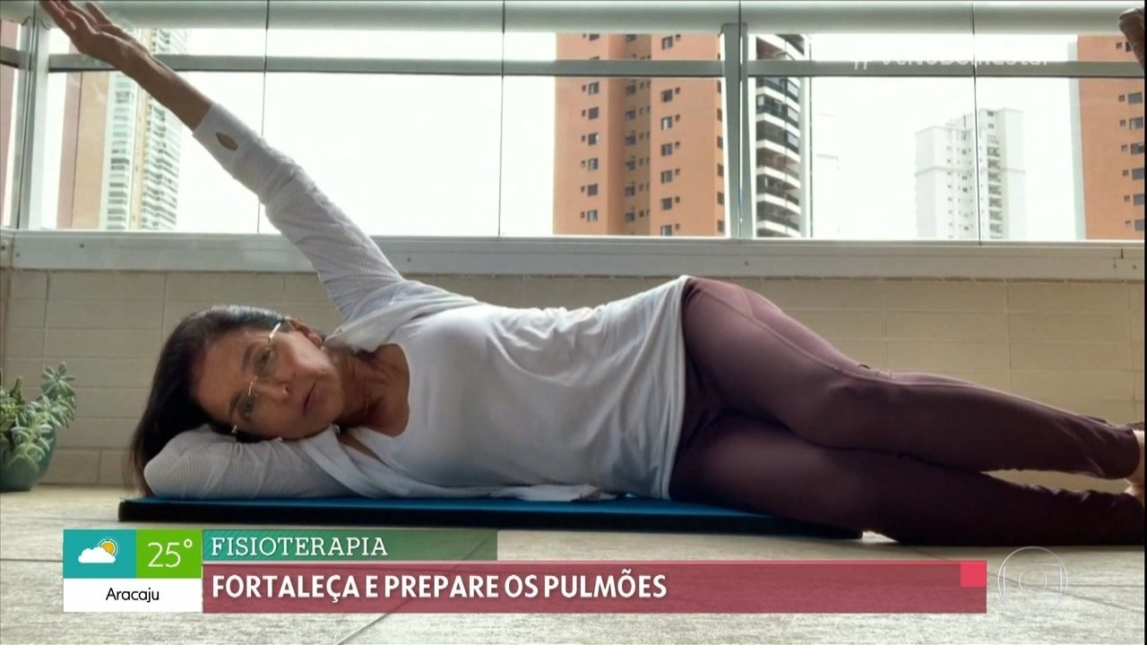 Aprenda exercícios para fortalecer e preparar os pulmões