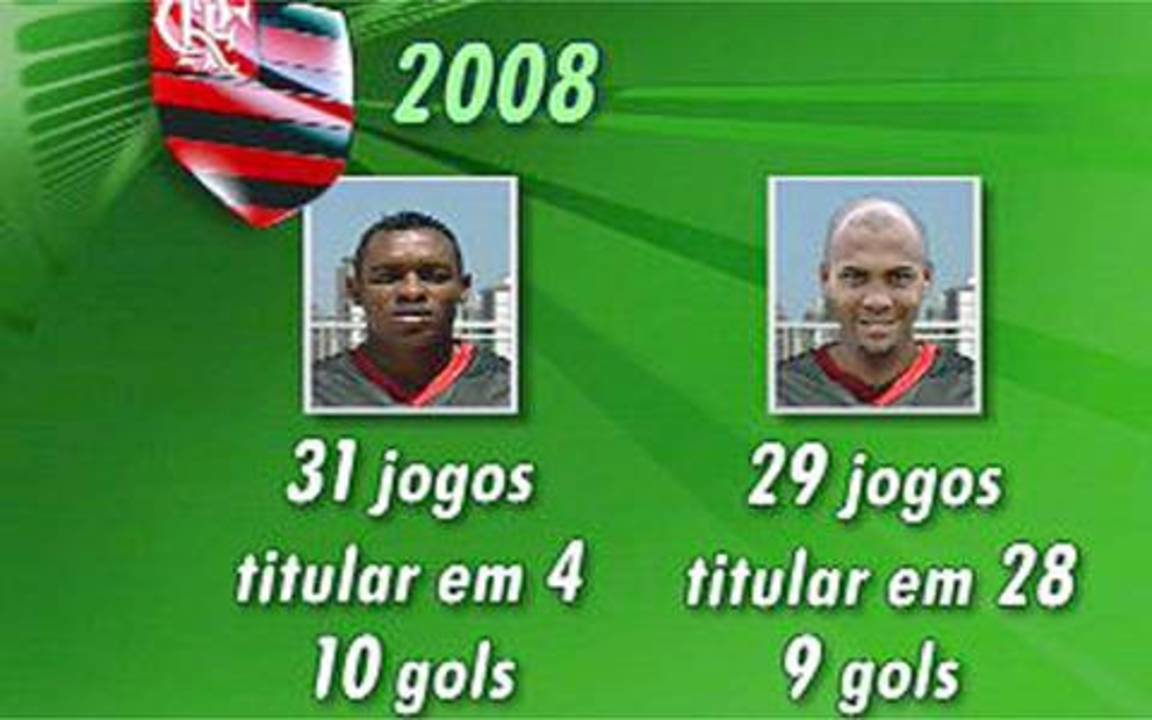 In 2008, Souza dispute artillery Flamengo