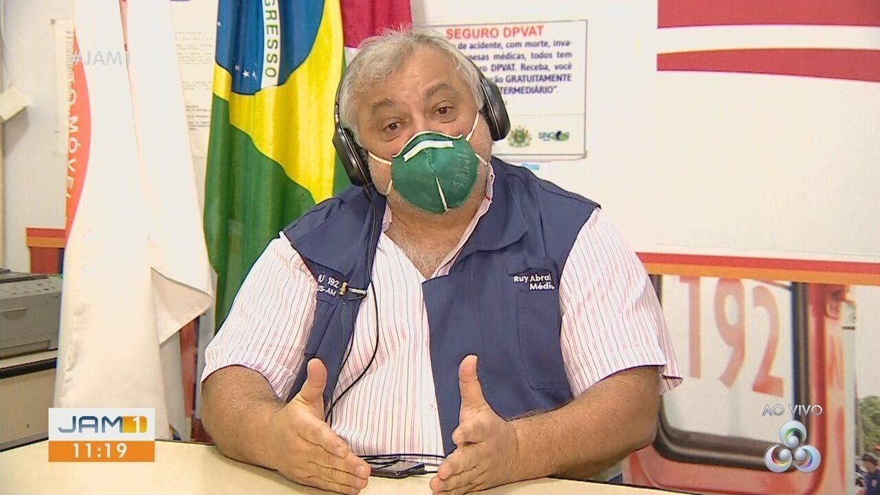 Samu enfrenta dificuldades para entrar com pacientes em unidades de saúde do AM