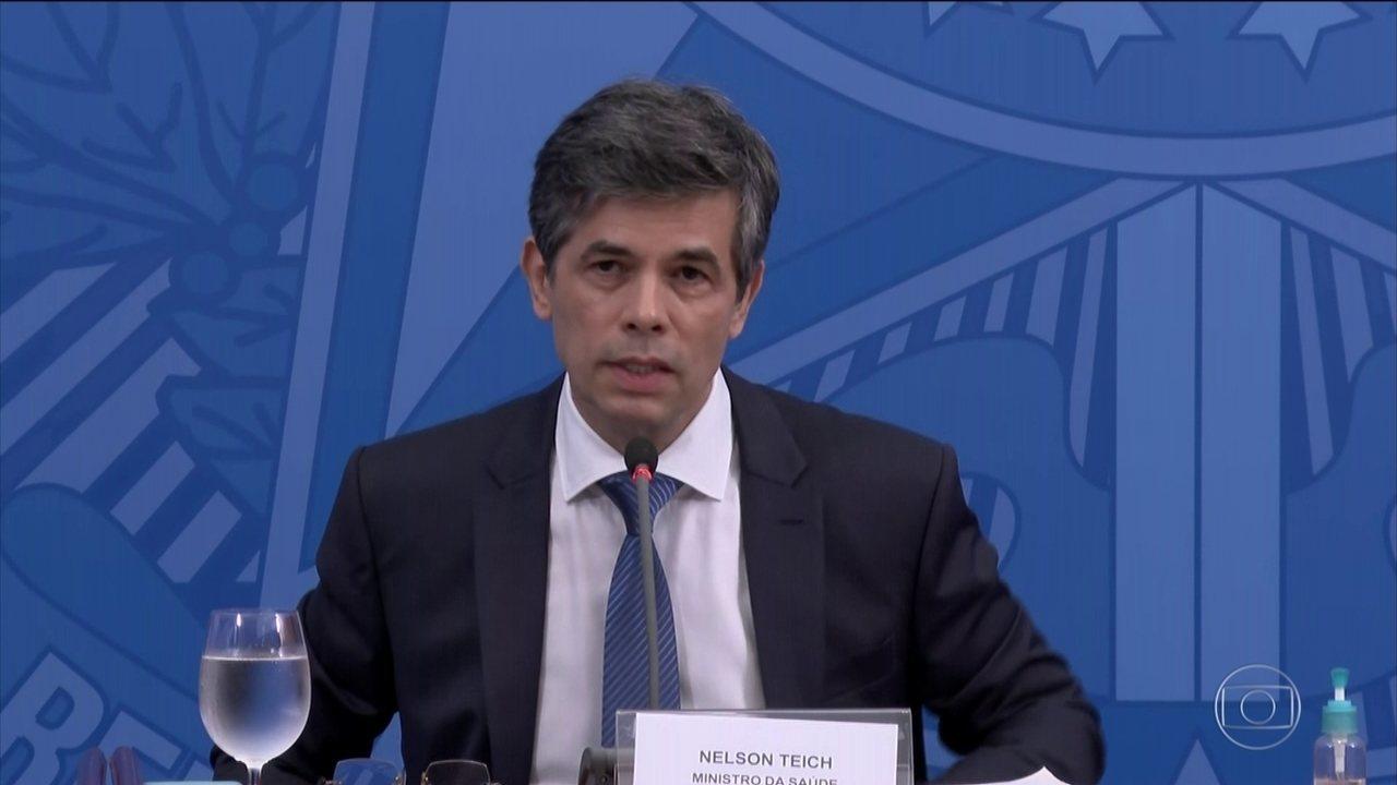 Ministro da Saúde fala sobre salto no número de mortes por coronavírus no Brasil