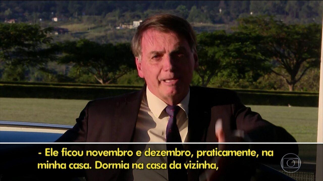 Bolsonaro fala da relação de Ramagem com sua família