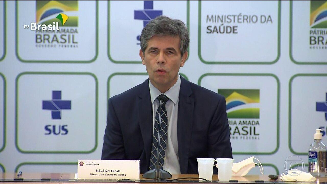 Teich diz que números mostram agravamento da Covid-19 no Brasil