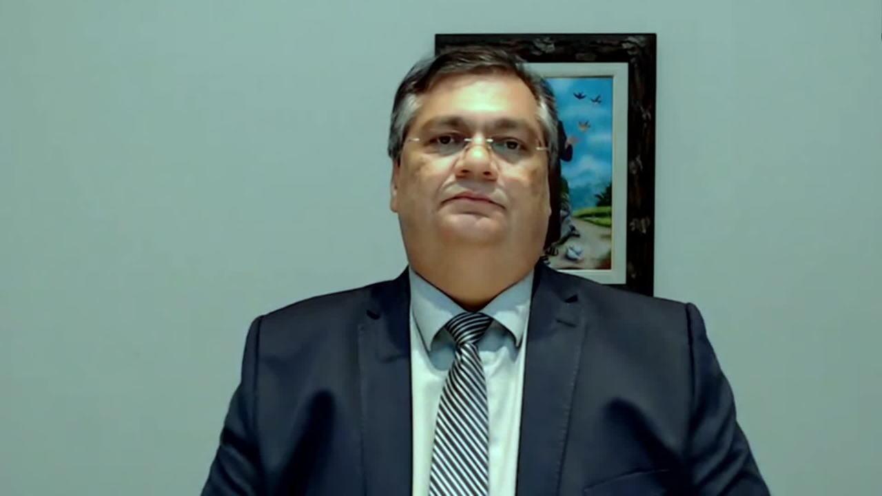 Governador do Maranhão, Flávio Dino. explica como será o isolamento obrigatório no estado