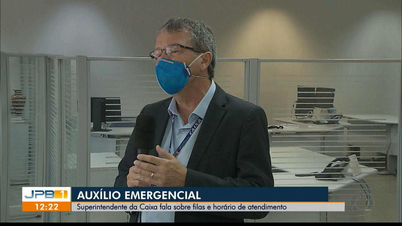 Superintendente da Caixa na Paraíba tira dúvidas sobre filas e horário de funcionamento