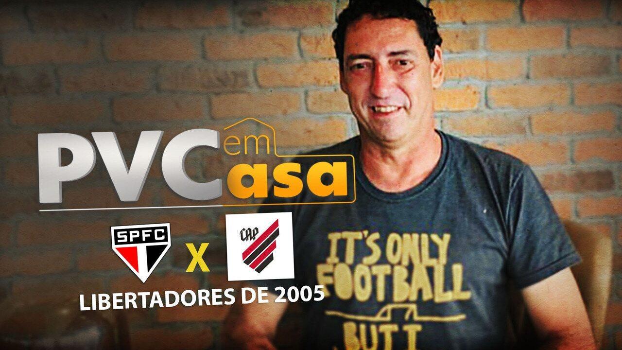 PVC EM CASA relembra título do São Paulo na Libertadores 2005 com show de Amoroso e Luizão