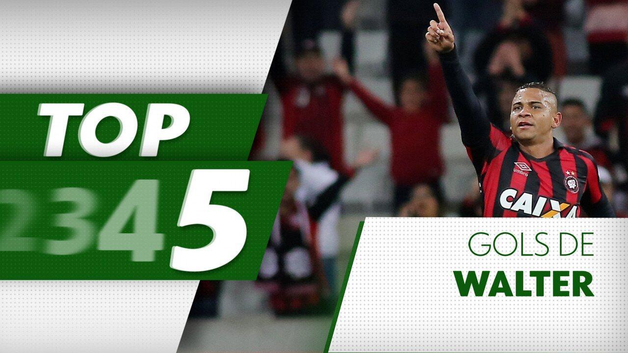 Top 5: relembre belos gols de Walter