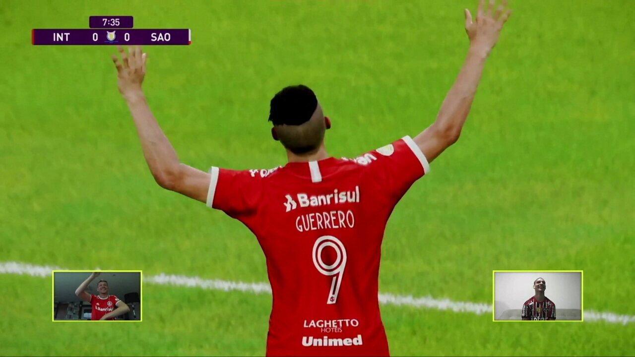 Melhores momentos: Internacional (Bruno Fuchs) 3 x 1 (Antony) São Paulo pelo Futebol de Casa