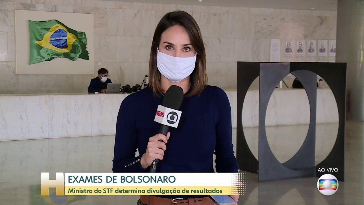 Lewandowski manda divulgar resultado de exames de Bolsonaro para coronavírus