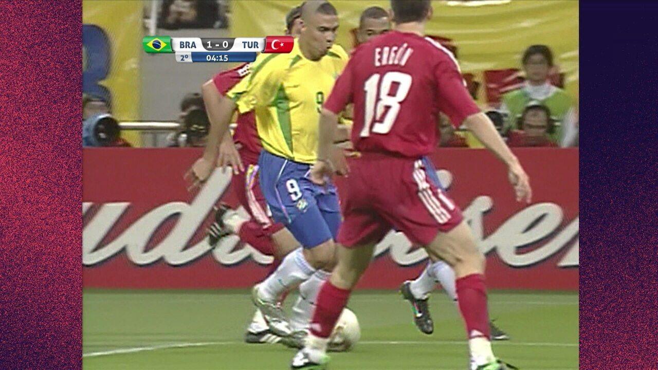 Melhores momentos de Brasil 1 x 0 Turquia pela Copa do Mundo 2002