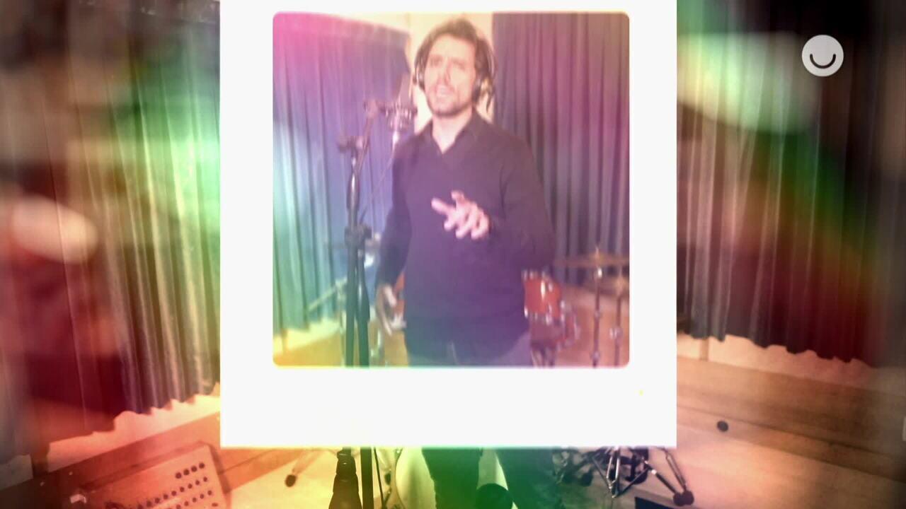 Thiago Arancam canta música 'Amigos Para Sempre'