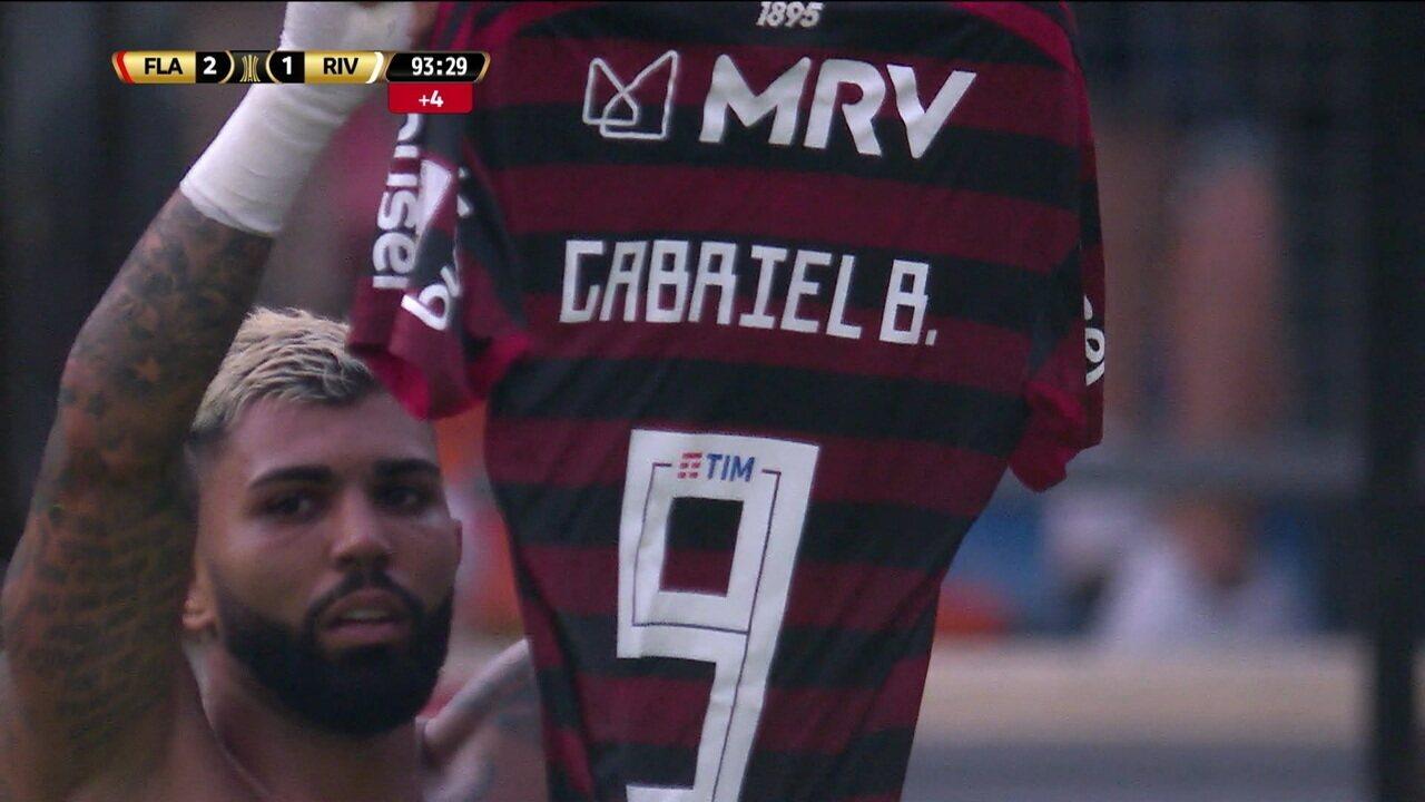 Gol de Gabigol na Libertadores supera o de Pet e é eleito o mais ...