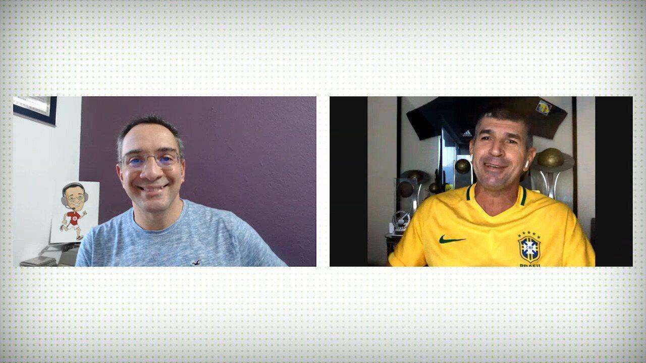 Marcelo de Lima Henrique destaca dificuldade dos árbitros de futebol durante a pandemia