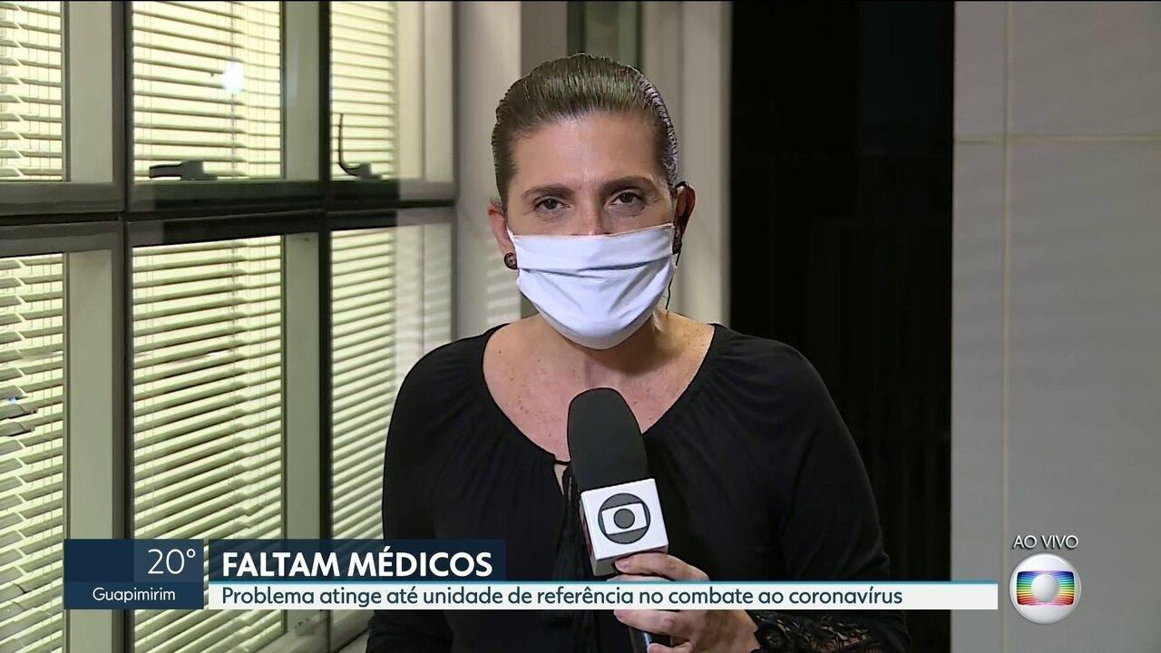 Faltam médicos para atender pacientes com Covid-19 na UTI do Hospital Anchieta