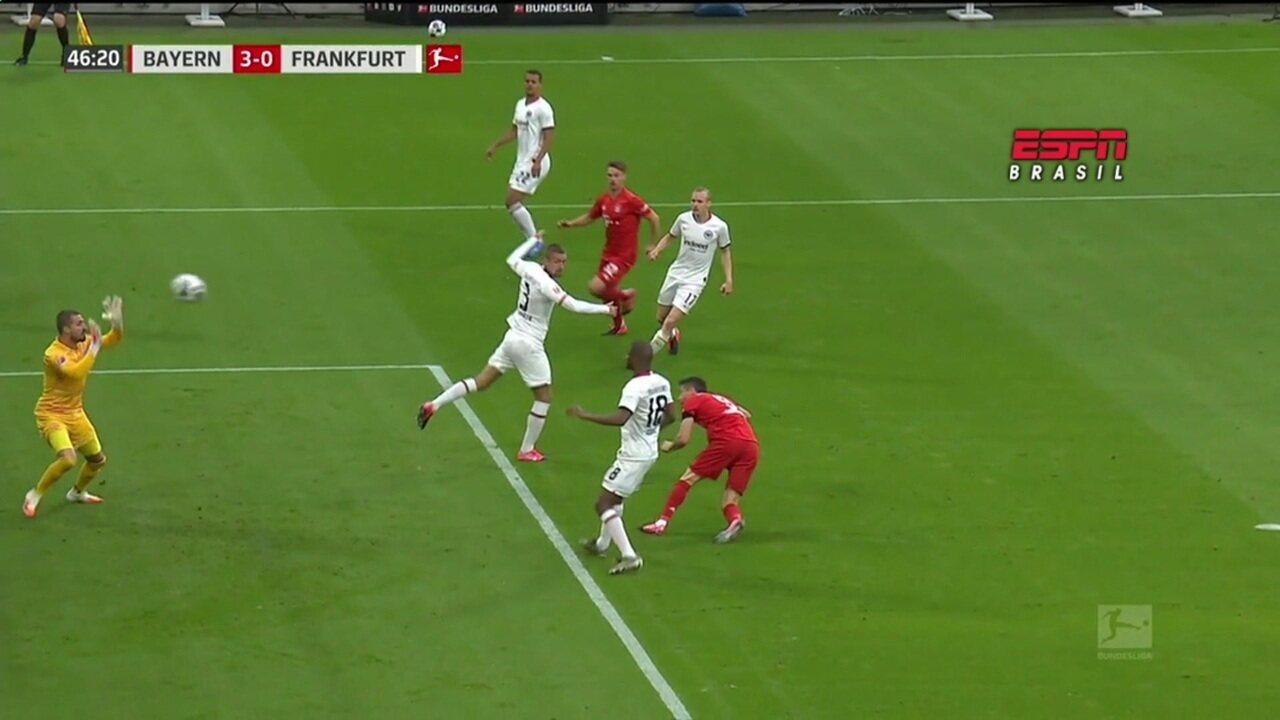 Os gols de Bayern de Munique 5 x 2 Eintracht Frankfurt pelo Campeonato Alemão
