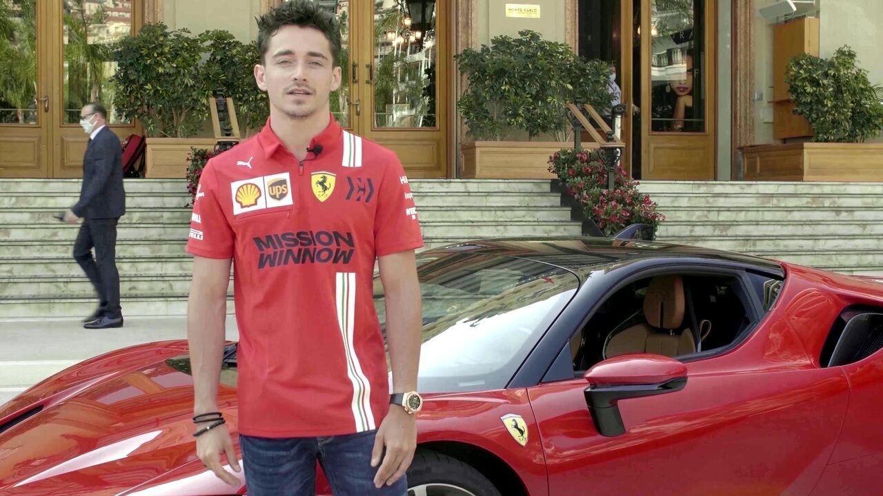 Charles Leclerc fala sobre vídeo gravado em Mônaco e entrega início da F1 na Áustria