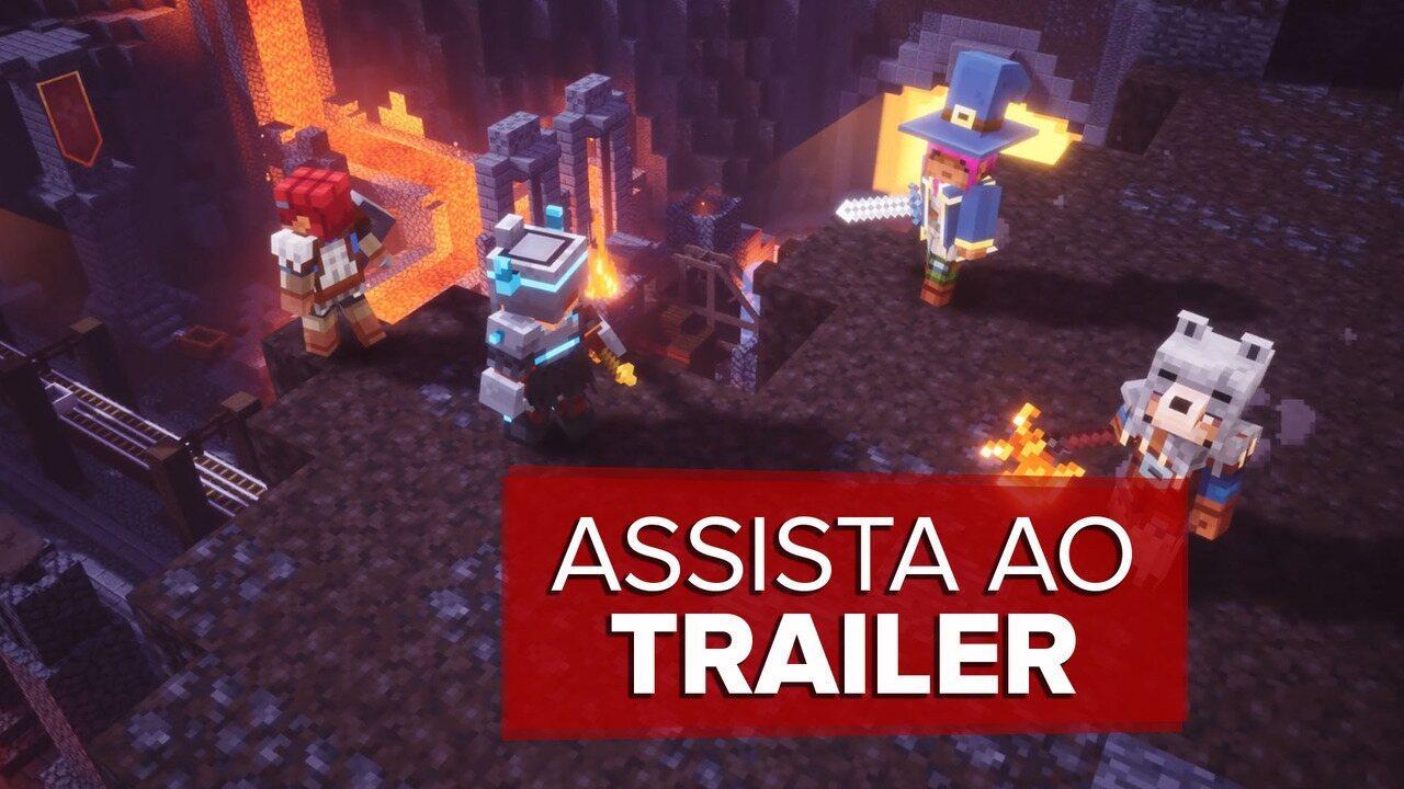 Assista ao trailer de 'Minecraft Dungeons'
