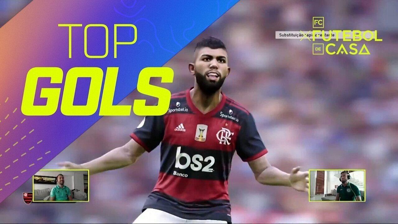 Top 3: veja os gols mais bonitos do sétimo dia do Futebol de Casa